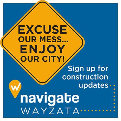 Excuse Our Mess  - Sign up for construction updates