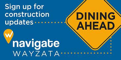 Dining Ahead - Sign up for construction updates