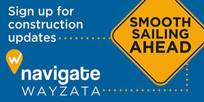 Smooth Sailing Ahead - Sign up for construction updates